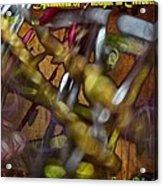 Dysmetria Of Thought In Cerebellar Ataxia 5 Acrylic Print by Sandra Pena de Ortiz