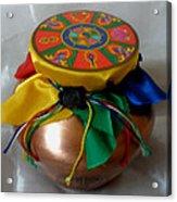 Dzambala Fortune Vase Acrylic Print