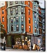 E And W Broadway Acrylic Print