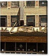 E M Loews Theater Acrylic Print