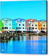 E Sea Living Acrylic Print