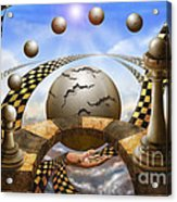 Each Pawn Dreams To Become A Queen Acrylic Print