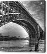 Eads Bridge Acrylic Print