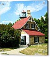 Eagle Bluff Lighthouse Acrylic Print