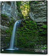 Eagle Cliff Falls Acrylic Print