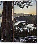 Eagle Falls Exploration Acrylic Print