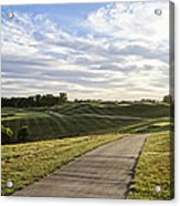 Eagle Knoll Golf Club - Hole Four Acrylic Print