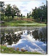 Eagle Knoll Golf Club - Hole Six Acrylic Print