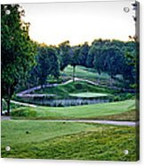 Eagle Knoll - Hole Fourteen From The Tees Acrylic Print