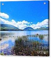 Eagle Lake In Acadia Acrylic Print