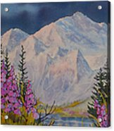 Eagle Peak II Acrylic Print