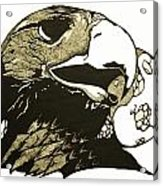 Eagle Planet Acrylic Print