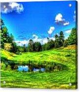 Eagle River Golf Course Acrylic Print
