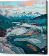 Eagle River Solstice Acrylic Print