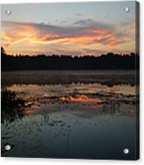 Eagle River Sunrise No.5 Acrylic Print