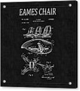 Eames Chair Patent 4 Acrylic Print