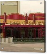 Earl Of Sandwich Downtown Disneyland Acrylic Print