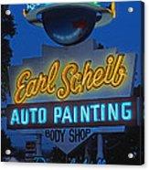 Earl Scheib Neon Bev Hills-1 Acrylic Print