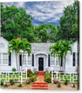 Beautiful 1940 South Florida Home Acrylic Print