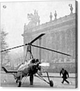 Early 20th Century Autogyro Acrylic Print