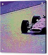 Early 60's Era Formula 1 Race Acrylic Print