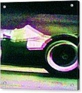 Early 60's F1 Racer Acrylic Print
