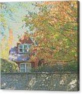 Early Autumn Home Acrylic Print