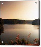 Early Autumn On The Lake Acrylic Print