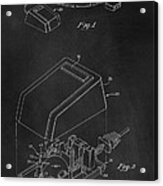 Early Computer Mouse Patent 1984 Acrylic Print