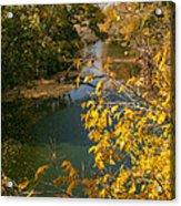Early Fall On The Navasota Acrylic Print