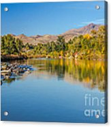 Early Fall On The Payette Acrylic Print