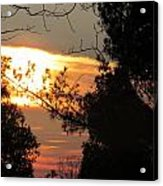 Early Feb 9 2013 Sunset Acrylic Print