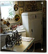 Early Fifty's Kitchen Acrylic Print