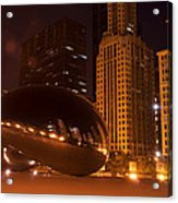 Early Hours In Chicago Acrylic Print