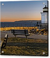 Early Morning At Bug Lighthouse Acrylic Print