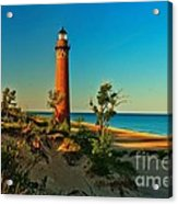 Early Morning At Little Sable Acrylic Print