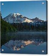 Early Morning At Mount Rainier Acrylic Print