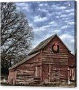 Early Morning Barn Acrylic Print