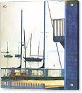 Early Morning Camden Harbor Maine Acrylic Print