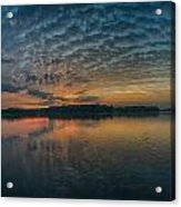 Early Morning Clouds Acrylic Print