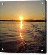 Early Morning Fishing Acrylic Print