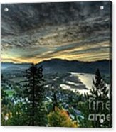 Early Morning From The Abby Acrylic Print
