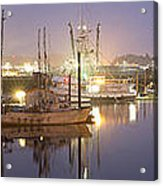 Early Morning Harbor II Acrylic Print by Jon Glaser