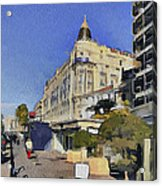 Early Morning In Cannes Acrylic Print