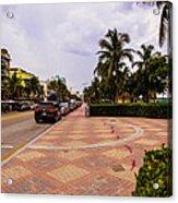 Early Morning In Miami Beach Acrylic Print