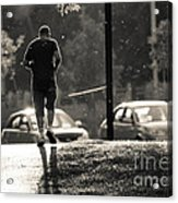 Early Morning Jog Acrylic Print