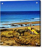 Early Morning On The Beach Acrylic Print