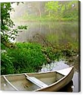 Early Morning Paddle Acrylic Print by Jody Partin