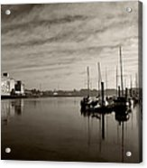Early Morning River Suir, Waterford Acrylic Print