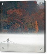 Early Morning Row Acrylic Print